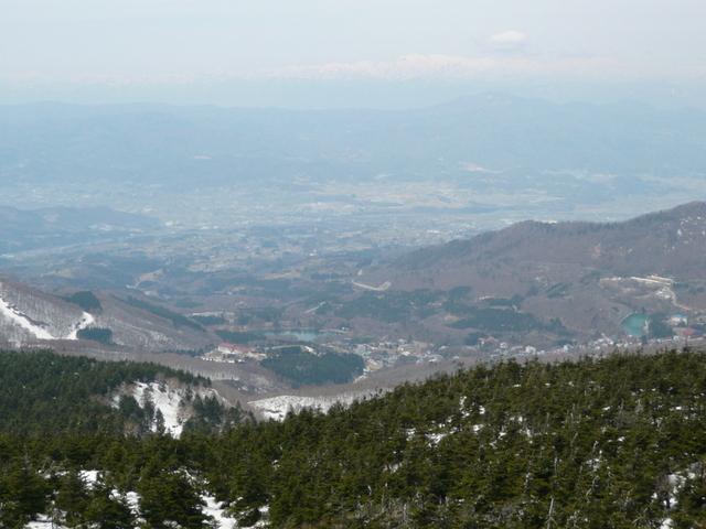 蔵王地蔵山頂からの景 色.JPG