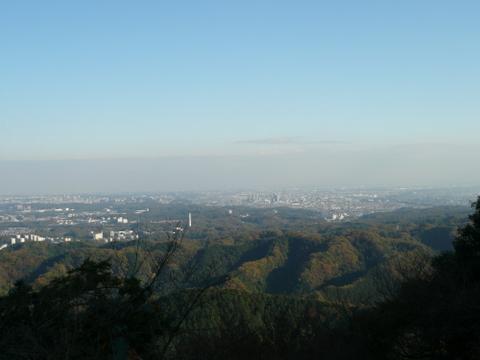 高尾山駅付近からの眺め.JPG